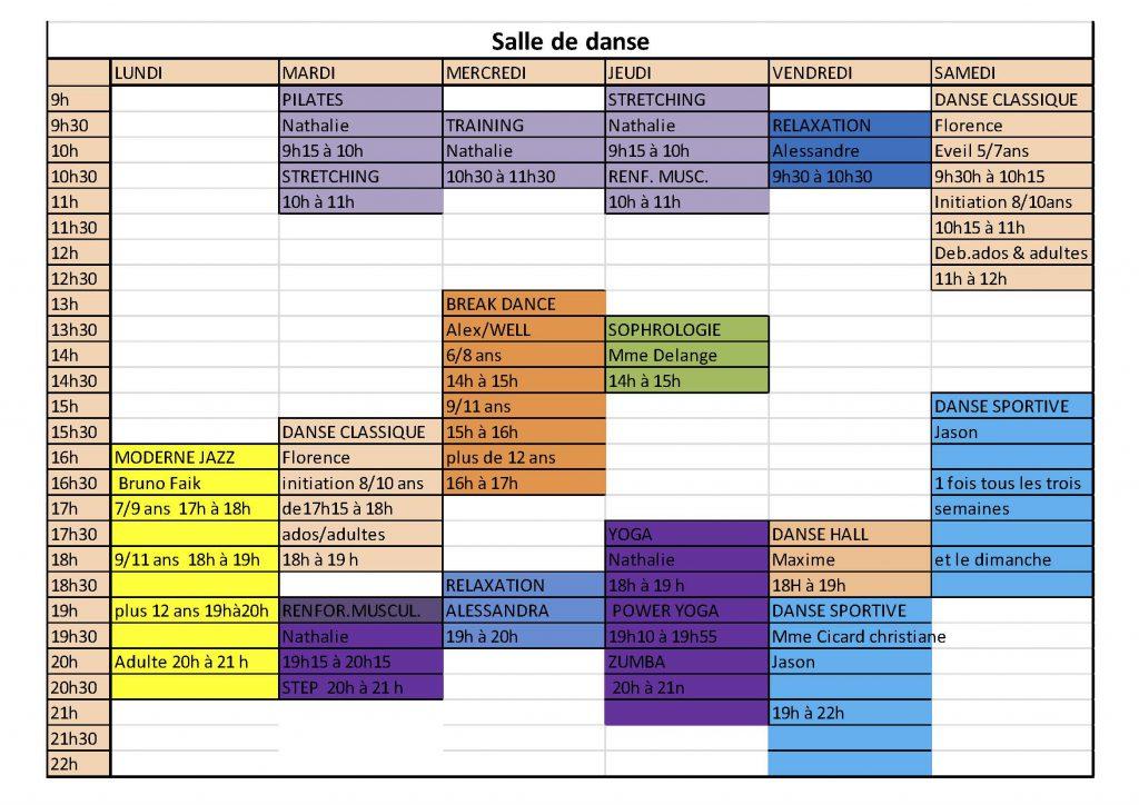 2017_Planning salle de danse