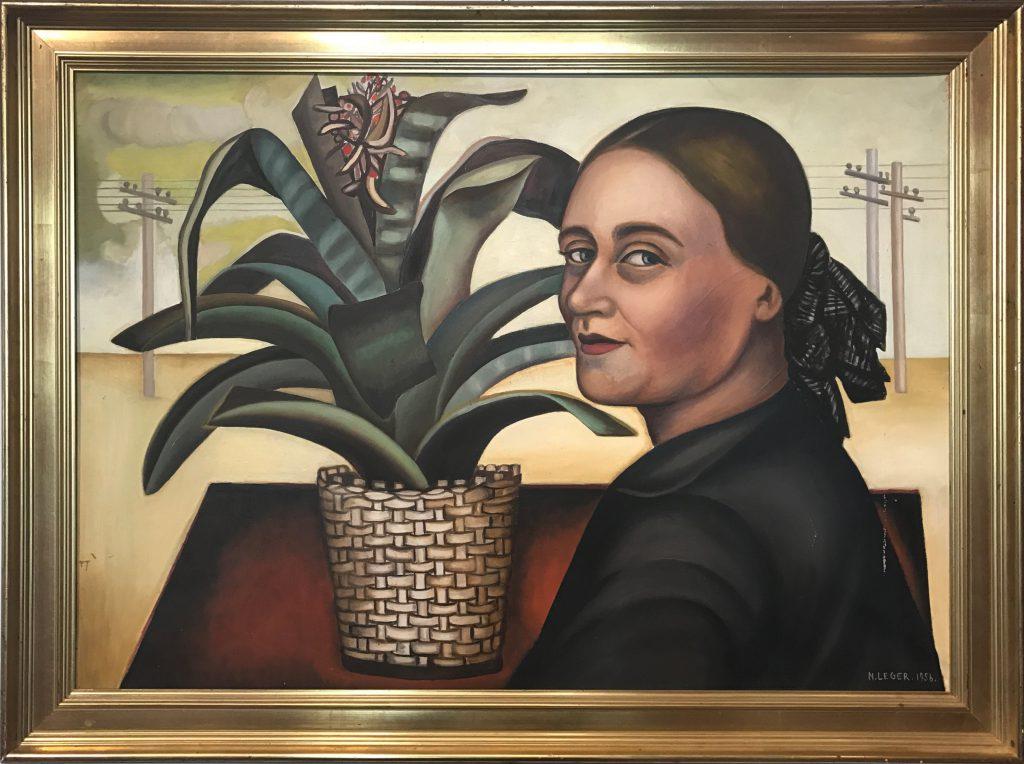 33x Autoportrait 1956 66 x 92