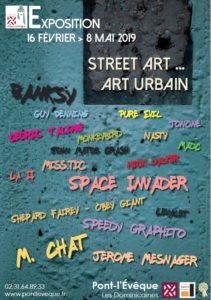 Affiche Street art, art urbain