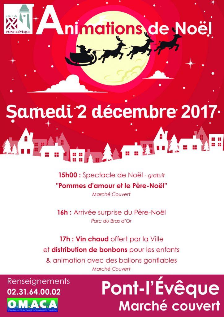 2017-12_Affiche_Arrivée du Père Noel_imprimeurs