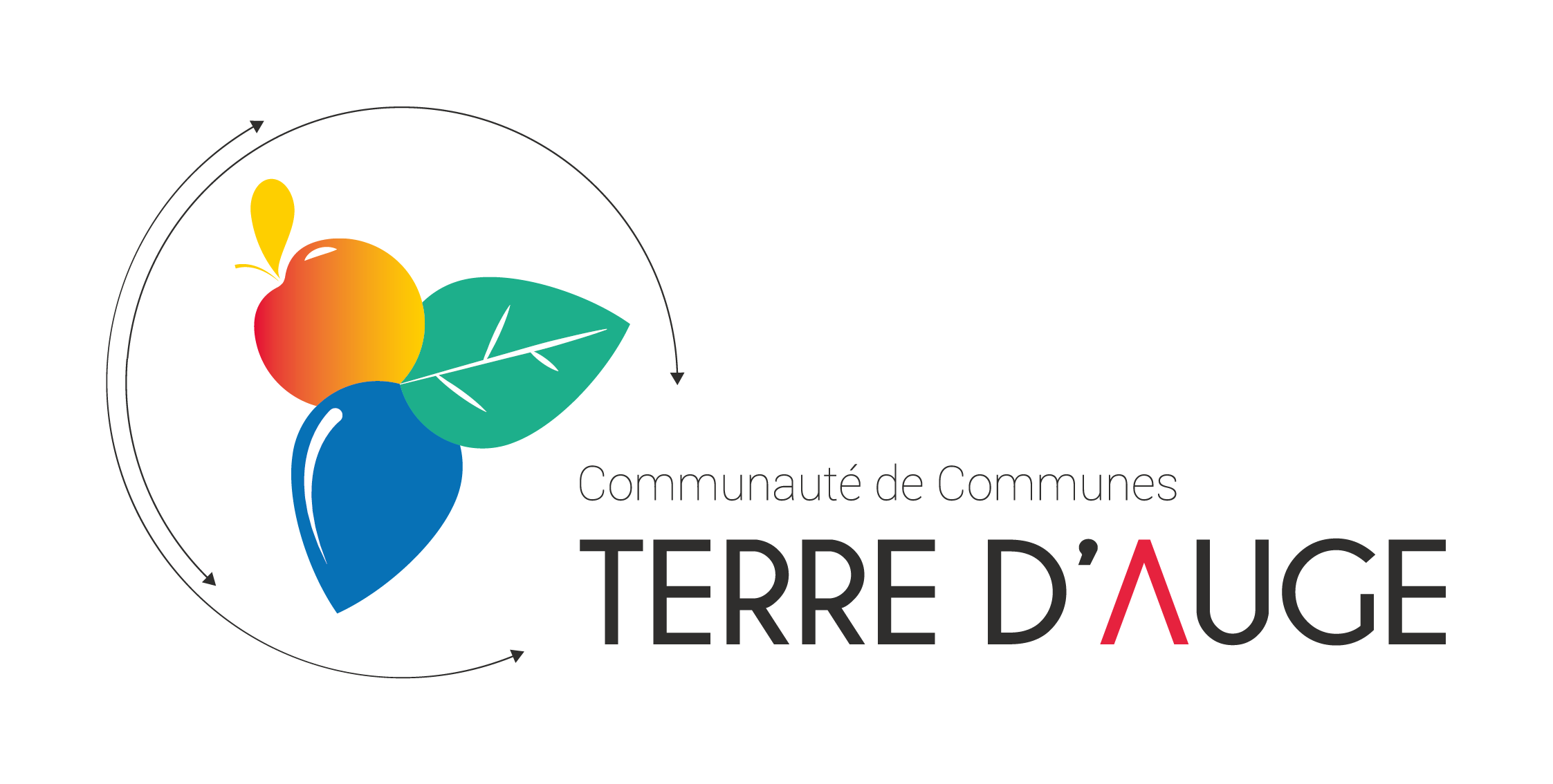 Logo Intercom _ Terre d'Auge avec cartouche